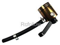 Universal Brown Brake Fluid Reservoir Fit For Suzuki GSXR 600 750 1000 1300 GSF