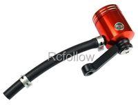 Universal Orange Brake Fluid Reservoir Fit For KAWASAKI ZX6R/7R/9R/12R Z1000 ZZR