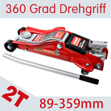 2T Horizontal Jack Jacking height 89-359mm Car jacks Hardware tools Automobile Maintenance tools Deliver from