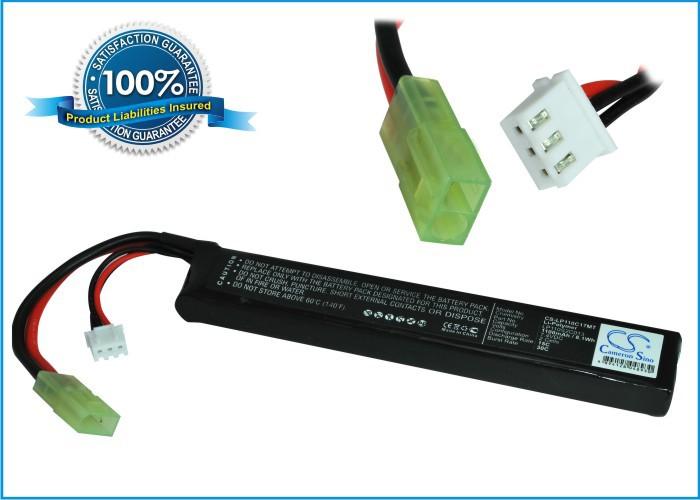 Discount RC, Airsoft Gun Battery For Toys Ni-MH Airsoft Guns Batteries Mini Tamiya Connector CS-LP110C17MT Free Shipping(China (Mainland))