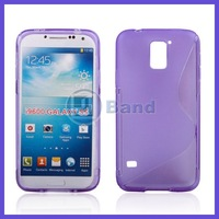 For Samsung i9600 Galaxy S5 Soft S Line TPU Gel Case