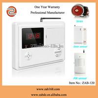 ZAB-120,New Design,Low price ,Wireless, Burglar Alarm System, with 120 protected areas