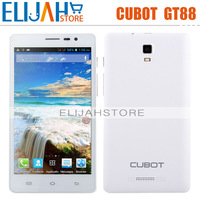 In Stock! Cubot GT88 MTK6572A Dual Camera Android 4.2 5.5'' Touch screen 512MB+4G Quad Core 1.3Ghz 3G WCDMA smart phone