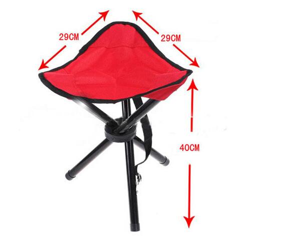Three-legged stool / outdoor fishing stool / portable folding outdoor chairs(China (Mainland))