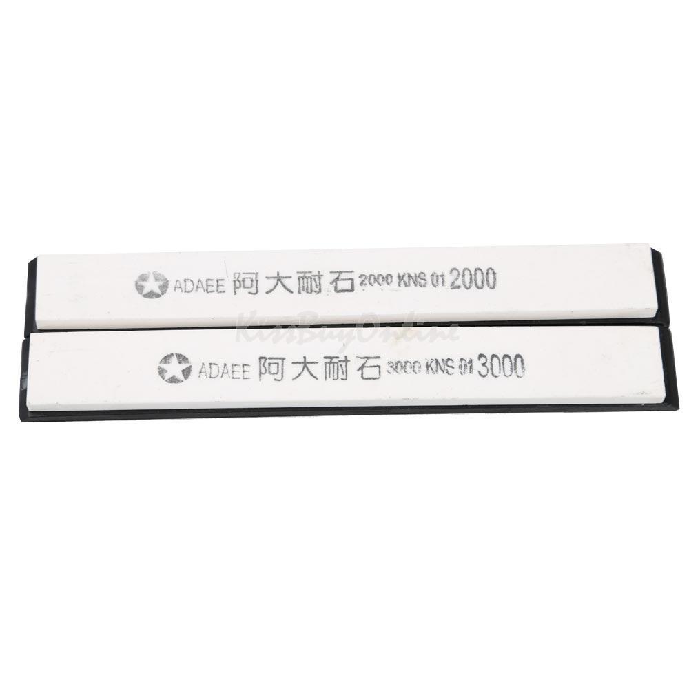 2PCS Knife Sharpener Grinder 2000# 3000# Grindstone Whetstone Set PTSP(China (Mainland))