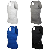 Men's Gym Sports Basketball Jersey Training Vest Tank Top Quick-dry Bodybuilding Vest Tights Tops Undershirt Freeshipping