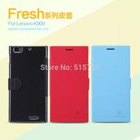 Nillkin Fruit series case for Lenovo K900 Flip leather case for Lenovo K900