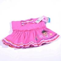 new arrived Girls  skirt , little doctor girls bow skirt culotte anti emptied skirt retail