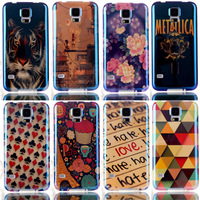 2014 New Arrival Beautiful Patterned Cover Blue Ray Polishing Phone Cases Back Shell For Samsung Galaxy S3 i9300 Back case JK83