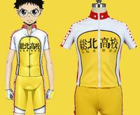 NEW High quality Yowamushi Pedal High School Bike Sporting Racing Suits cosplay costume