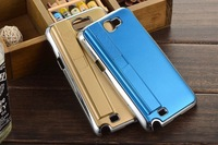 For samsung galaxy note 2 n7100  Lighting Man Style Rechargeable Zippo Cigarette Lighter Protective Case