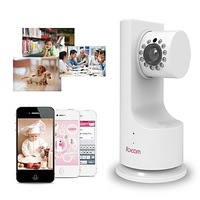 IBCAM - Home Wireless IP Network WiFi Security Camera for Baby, Pets, Office with P2P, Music Play, Two-Way Talk