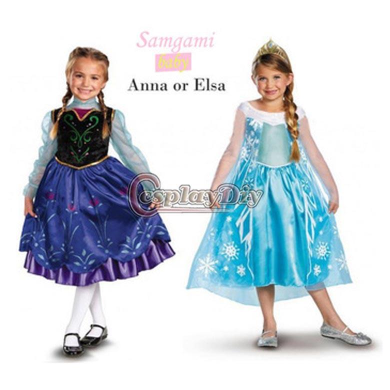 Free shipping 2014 Newest cheap Movie Frozen Princess Elsa /Anna