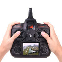 COOL Walkera DEVO F4 2.4G 4CH FPV Transmitter LCD 5.8G Live Video Remote Radio Control TX Model 2
