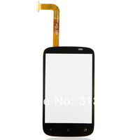 Newest Black Touch Screen Digitizer Glass Lens Panel For HTC Desire C NFC Golf A320e B0151 P