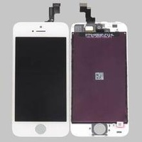 Replacement Full Retina LCD Display + Touch Screen Digitizer for iPhone 5S White
