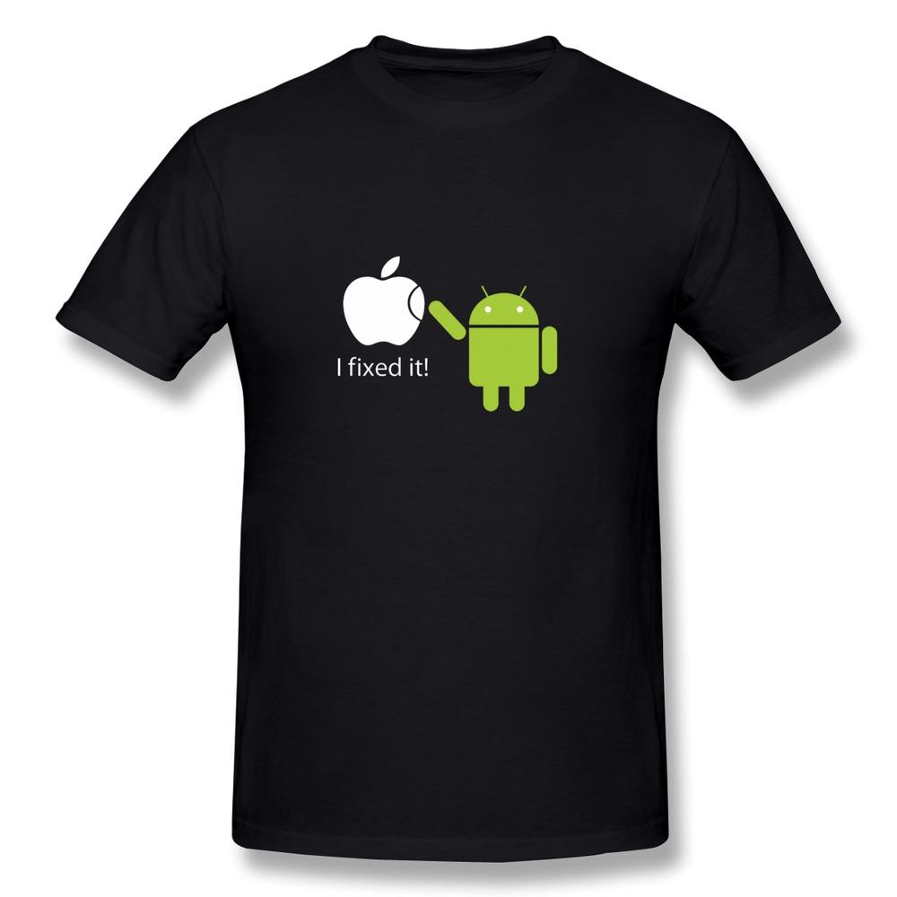 Robot Clothing Logo Humor Logo Men t Shirts