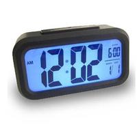 Free Shipping New Digital LCD Screen Mini Desktop LED Projector Alarm Clock Multi-function with Snooze+Blue Backlight+Calendar