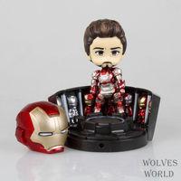 Unisex cool model  anime hot toys349# Q MK42 Iron Man Action figure model animiation PVC free shipping