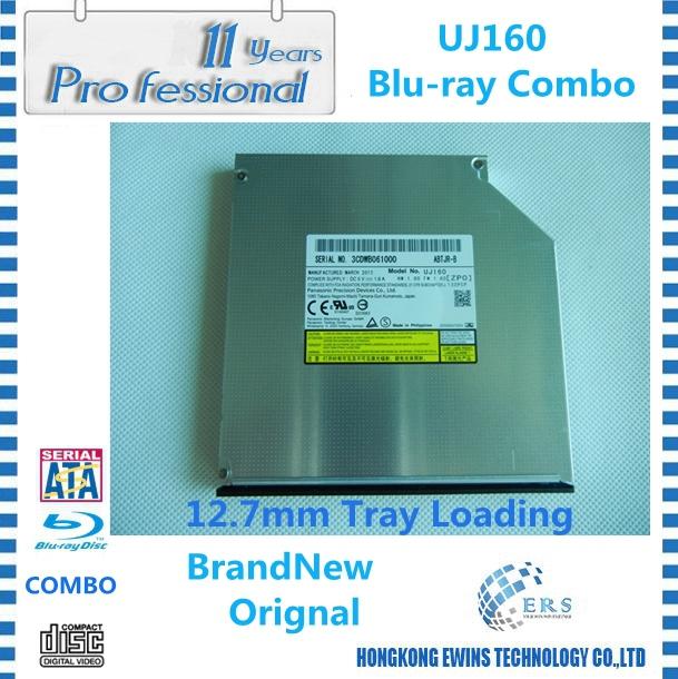 Накопитель на оптических дисках uj/160 blu/ray UJ160 /bd/rom Slim 12,7 SATA DVD /cdrw new blu ray dvd rewriter 12 7mm sata laptop drive for panasonic uj 260 uj260 6x