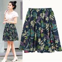 Summer Spring 2015 New Elegant  Big bohemian skirts Swing Pleated Skirts For Women Girl In 23 color  0999C1