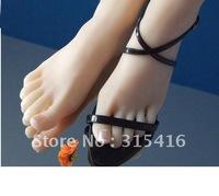Pussy girl women female fake feet model ,foot fetish worship ,footfetish toys statue 3708