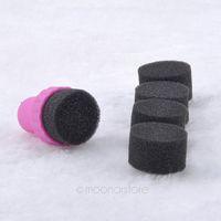 2014 New Hot Sale Nail Art Accessories Polish Sponge Brush ZMHM075#S2
