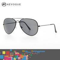 AEVOGUE Free shipping Brand 3026 Aviator sunglasses men Good Quality Metal frame Pilot sun glasses 11colors UV400 AE0160