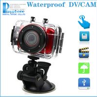 1080P Full HD DVR Sport DV Action Camera Helmet Waterproof Camera 1.5inch G Senor Gopro Motor Mini DV 170 Wide Angle