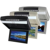 "10.2"" Analog TV Dual IR, FM,Wireless Game Pad, Speakers Flip Down DVD Player"