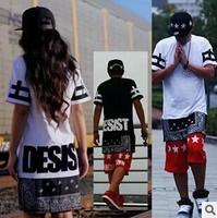 Cease desist zipper west coa st LA RHUDE Bandana KTZ tshirt woman&man's unisex t-shirt cashew flowers plus size one-piece dress
