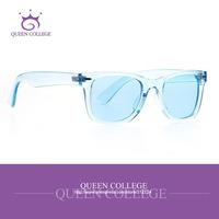 Queen College with Original case Ice Pop Wayfarer brand Sunglasses men Vintage pop Sun Glasses women Optical Fashion QC0150