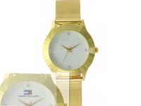 2014 New Arrival Men women Watch dress Quartz watch free shipping silveR GOLD luxury Stainless steel watch GOOD gift