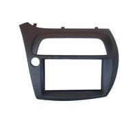 Double Din Fascia for Honda Civic Radio DVD Stereo CD Panel Dash Mounting Installation Trim Kit Face Frame Bezel