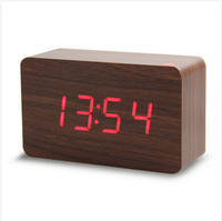 Wholesale Alarm clocks , LED Display Voice Sound Activated Digital clock, Table Clocks for drop shipping