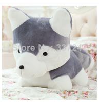 20cm-50cm Christmas gift White Siberian husky plush toy hot sale dog freeshipping