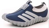 2014 new South Korea new summer women  running shoes lazy men sandals net woven very light sports shoes, eur36-44
