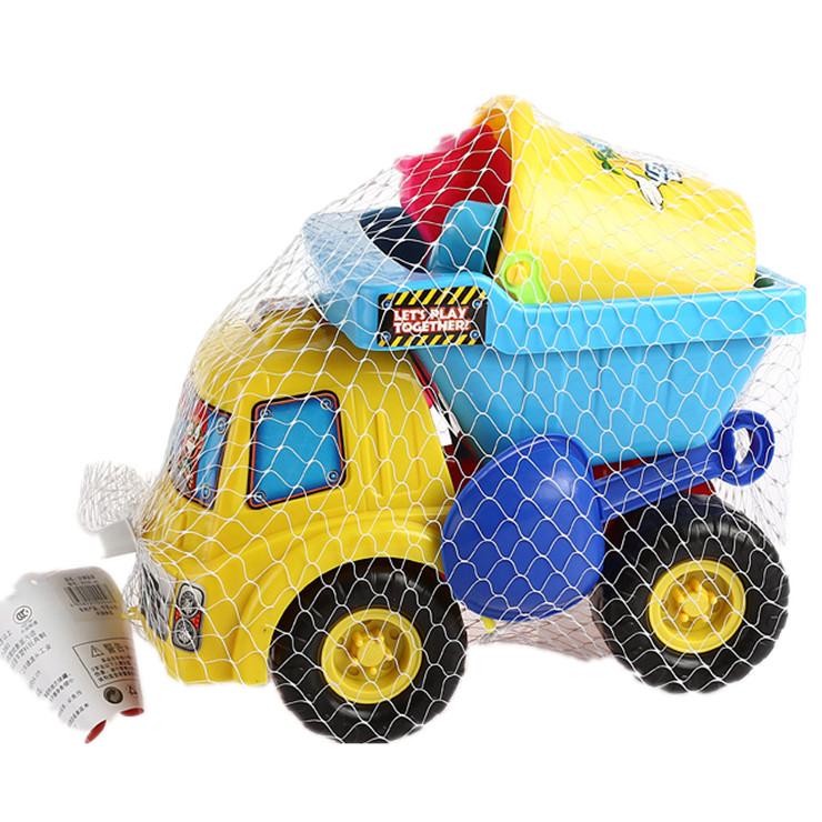 Extra large piece set atv toy set shovel sand tools toy car baby swimming toys Beach toys(China (Mainland))