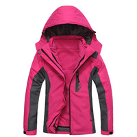 High Quality Chinese Outdoor Brand Woman 2in1 Winbreaker Ski Climbing Jacket
