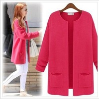 sweaters 2014 women fashion new fall and winter clothes simple long sweater coat cardigan sweater women