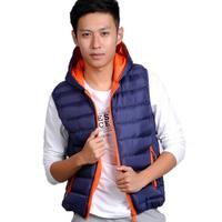 2014 New Autumn Winter Slim stylish men's casual Hoodie Vest couple vest men and women Jacket Sports cotton waistcoat hot sale