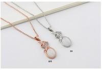Hot sale new fashion link chain bohemia style women necklaces pendants vintage jewelry