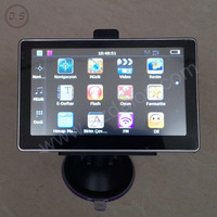 Free shipping 5 inch car gps navigation with free map for cars