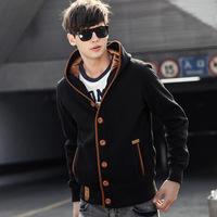 Autumn 2014 new men's coat spring hoodies Sweatshirts size M-XXL