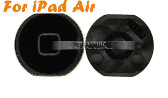 Черный главная кнопка меню ключевой частью вернуться ключ шлейф , пригодный для Apple iPad 5 воздуха