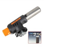 Free Shippping Gas Torch Butane Burner Auto Ignition Camping Welding Flamethrower BBQ Travel