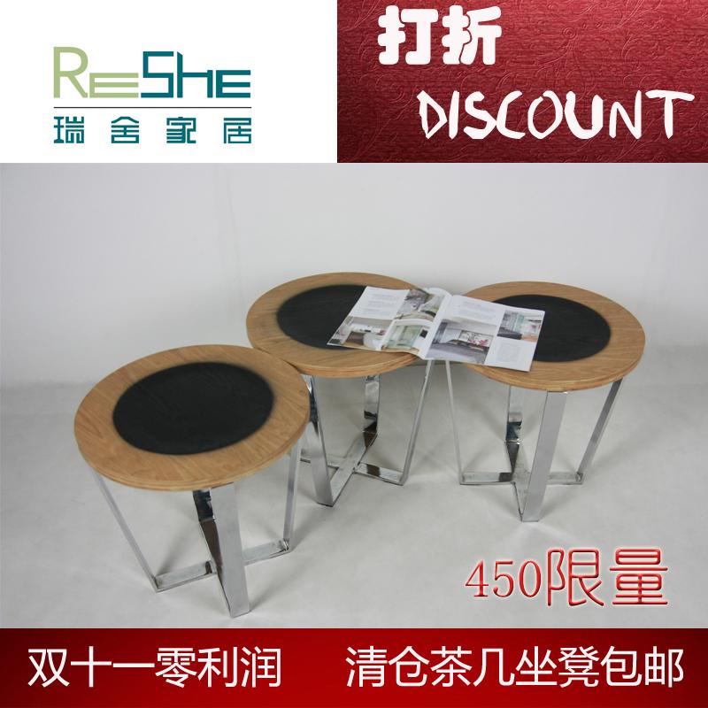11.11 grátis hot new bancos de ponta moderno e minimalista alguns canto algumas bentwood fezes superfícies de aço inoxidável(China (Mainland))