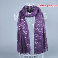 ladies shawls viscose long popular printe glitter fashion solid color wrap muslim hijab polka dot wrap scarf/scarves10pcs/lot