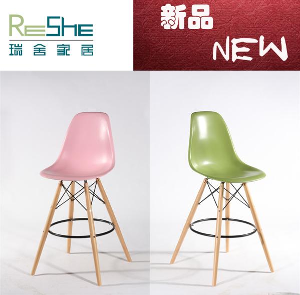 Criativo nova moda simples de multi pinos fita cadeiras de bar de madeira bar banco do bar cadeira de encosto especiais(China (Mainland))