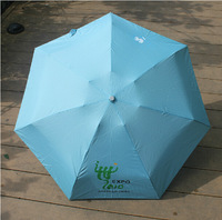 2014 New 4 PCS Mini Rain Sun Beach Umbrellas Creative Parasol Bumbersol Ultralight  Anti UV Multifunction Bumbershoot With Case